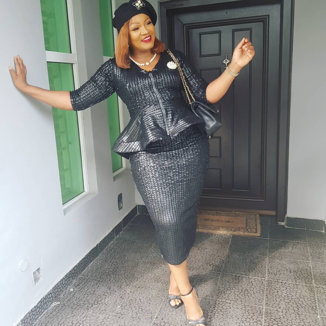 Omotola Jalade-Ekeinde Cries Out Over Worthlessness of Naira To Ghana Cedis
