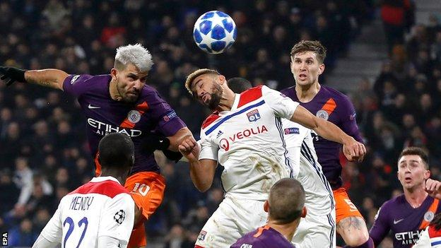 Match Highlights: Lyon 2-2 Manchester City