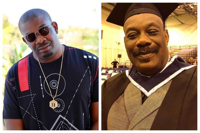 Don Jazzy praises Dad as he graduates from Dundalk Institute of Technology