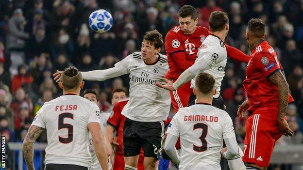 Match Highlights: Bayern 5-1 Benfica