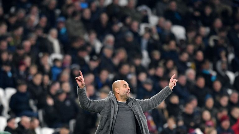 Pep Guardiola says Manchester City's title rivals can help them to title