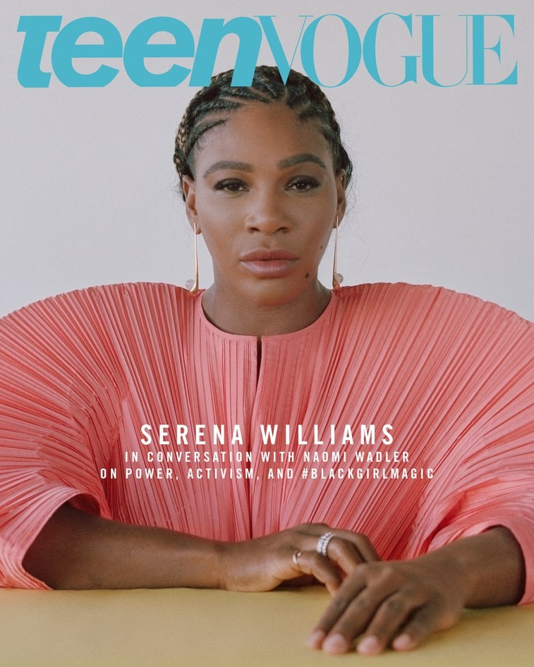 Serena Williams Speaks On Power And Activism As She Covers Teen Vogue
