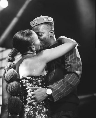 Simi Shares Loved Up Photos With Adekunle Gold
