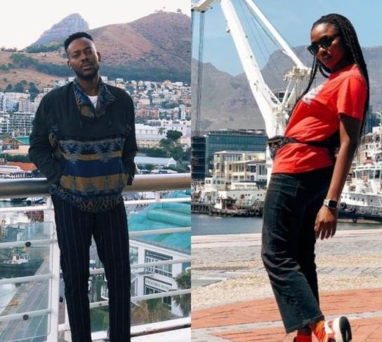 Honeymoon: Adekunle Gold and Simi Are In Cape Town
