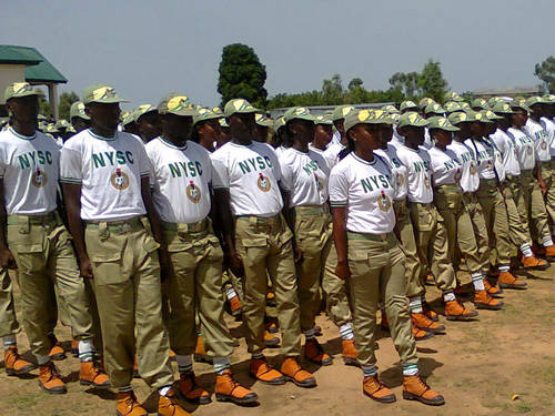 NYSC Members Purnished As They Undergo INEC Training
