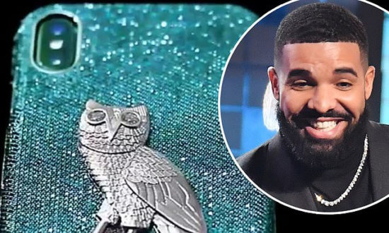 Drake reportedly buys iPhone case made of 18-karat gold with diamonds for $400,000