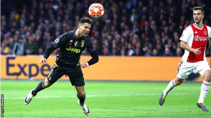Ronaldo – The Juventus Star Has Broken A Record With A Goal At Ajax