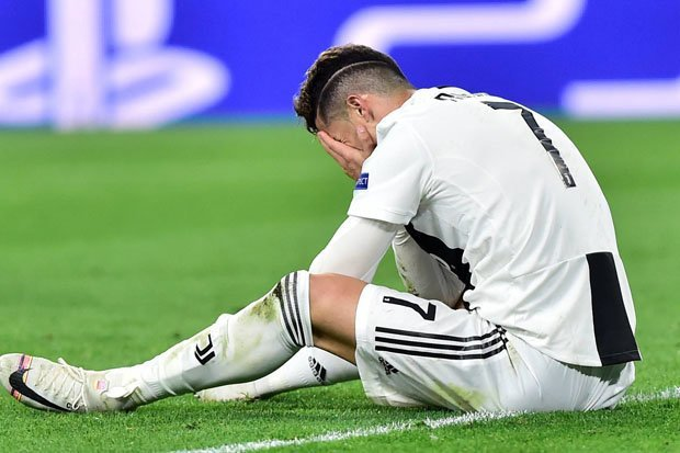 Ronaldo Reacts After Juventus Faced Defeat At Home