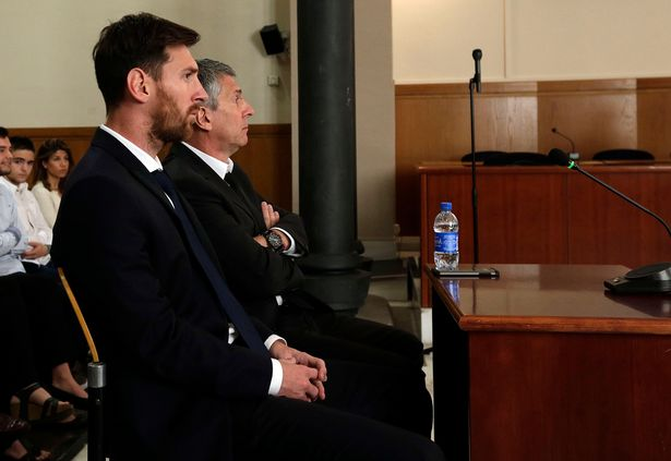Just In: Messi Involved In Road Accident