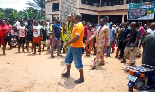 Stupid Man Kills His 65-Year-Old Father In Anambra, Sets His Corpse Ablaze