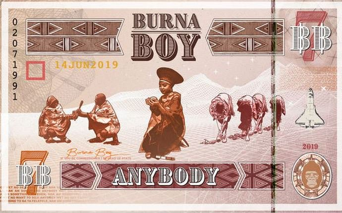 Burna Boy – Anybody [Music+Video]