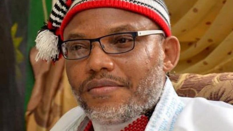 Chaos As Soldiers Arrived At Nnamdi Kanu's Residence To Block Entrance